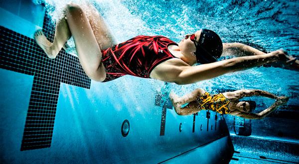 Perder peso rápido com a natação - melhora o processo cardiorrespiratorio foto