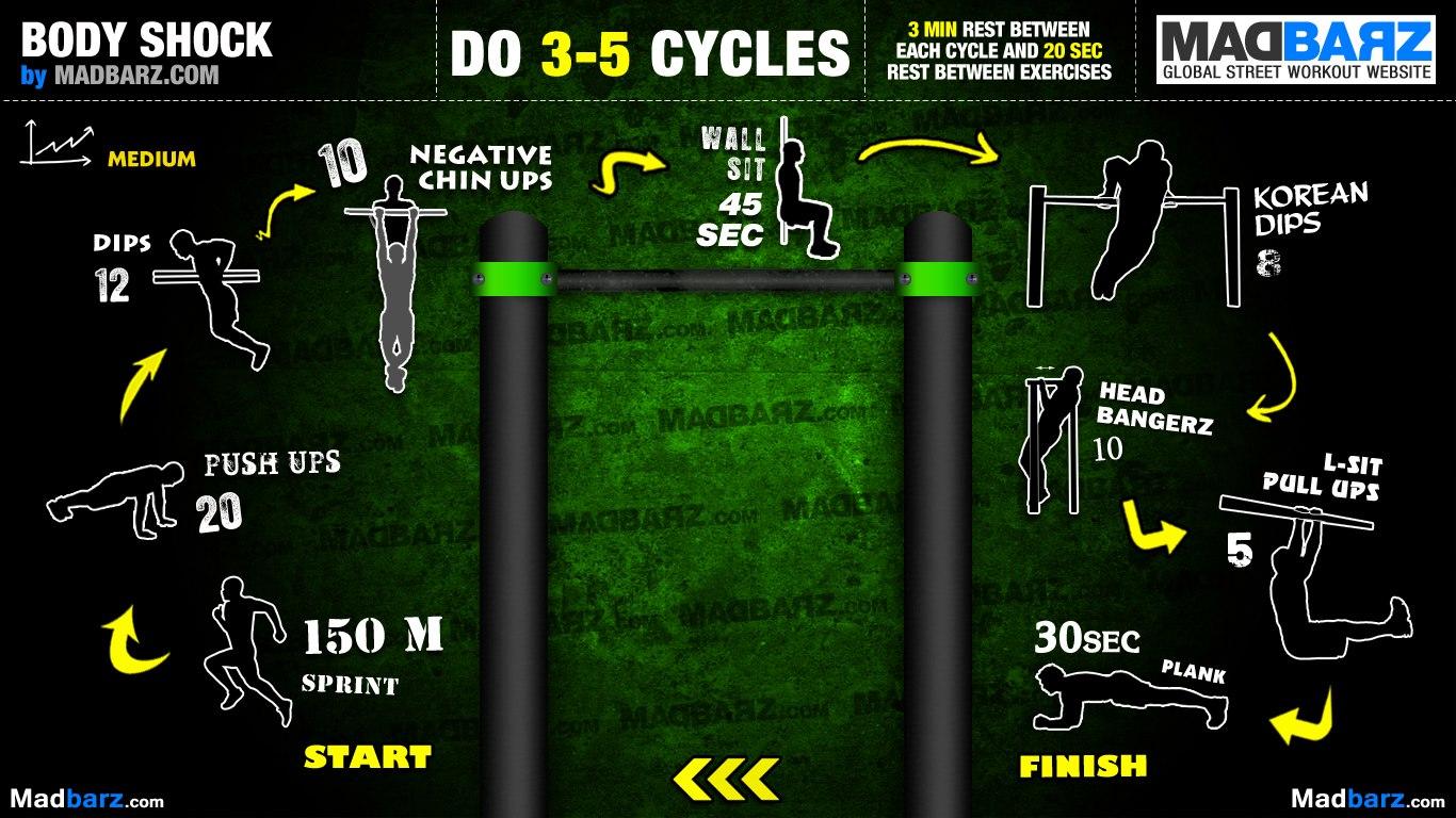 Famosos Rotina em nível intermediario de calistenia • Fitness Lifestyle XC07