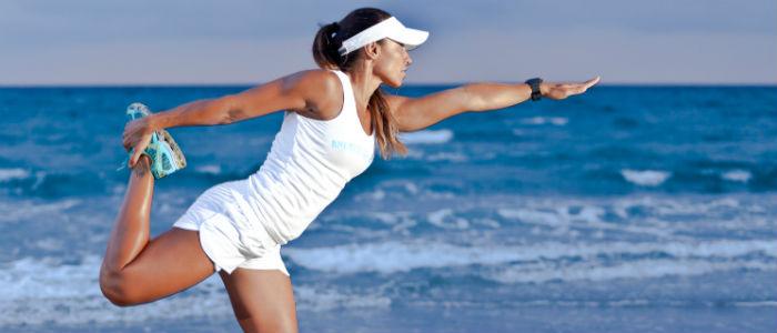 Correr na Areia - Equilíbrio foto