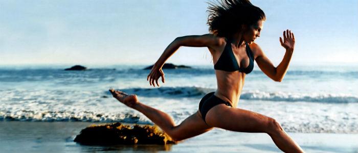 Correr na Areia - Melhora Forca e resistência foto
