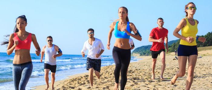 Correr na Areia - Não se esqueça foto