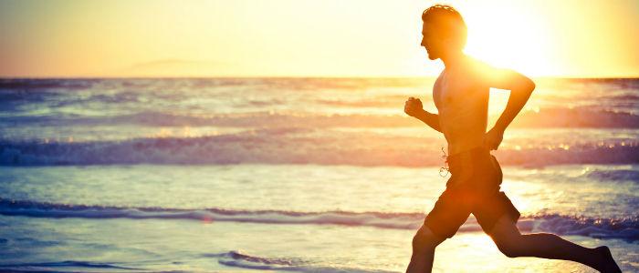 Correr na Areia - Previne lesões foto